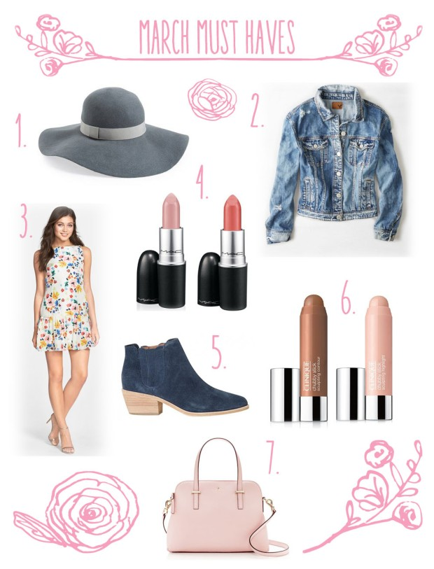 MARCHMUSTHAVES